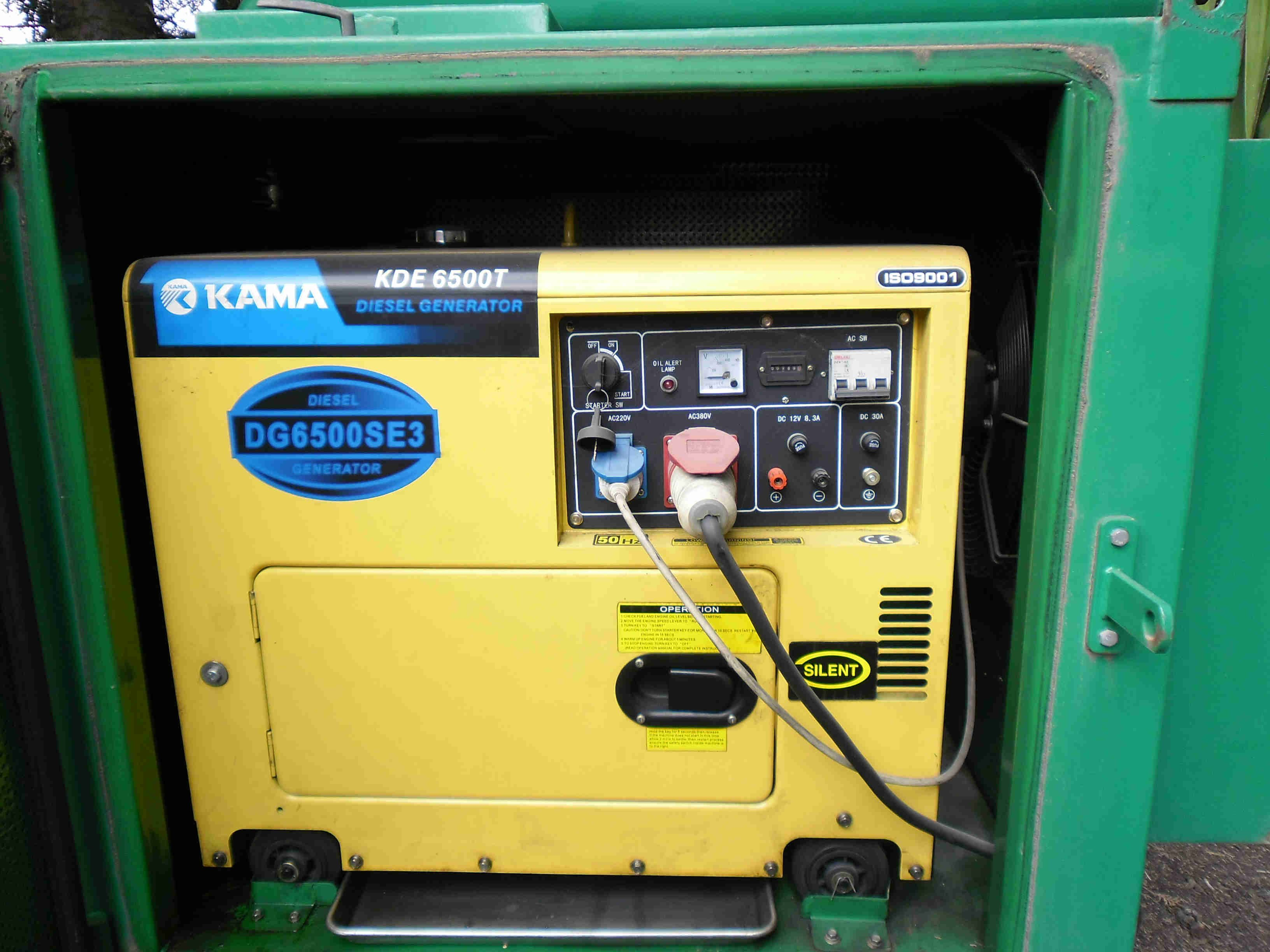 How To Take Out The Engine Alternator Assembly Of The Soundproof Canopy Of A Kama Kipor Diesel Gene Diesel Generators Small Diesel Generator Generator Repair