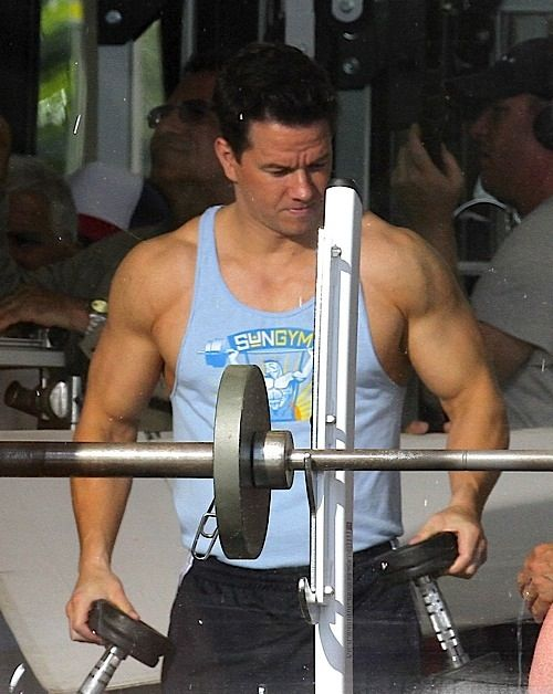 This is the HOTTEST I've seen Mark Wahlberg, and I'm like ...