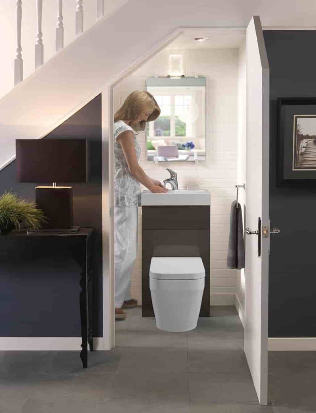 Image result for compact understairs toilet | Bathroom ...