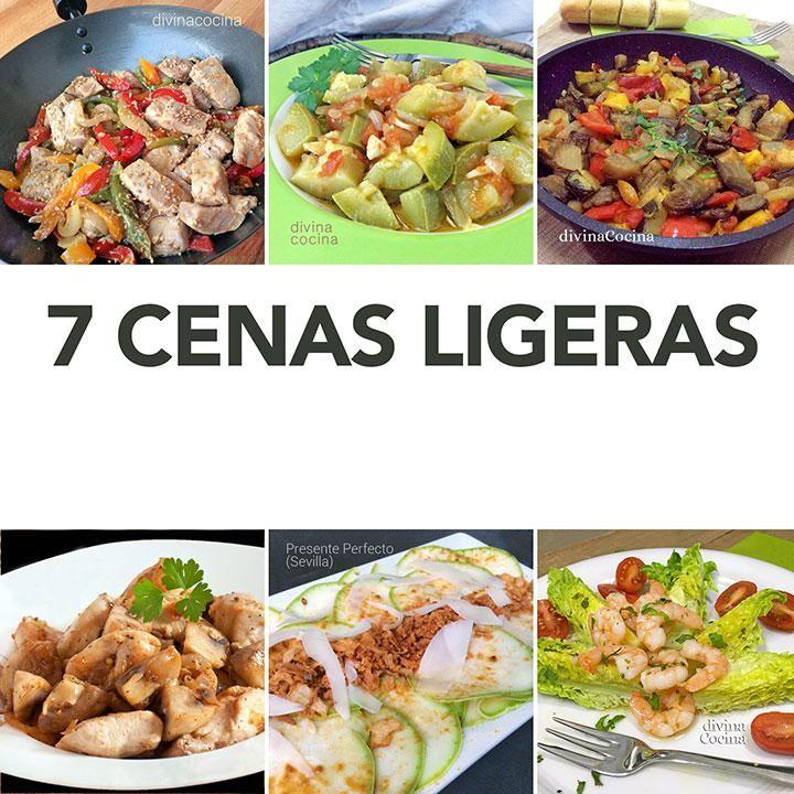 Recetas de 7 cenas ligeras f ciles recetas bajas en - Comidas sanas y bajas en calorias ...