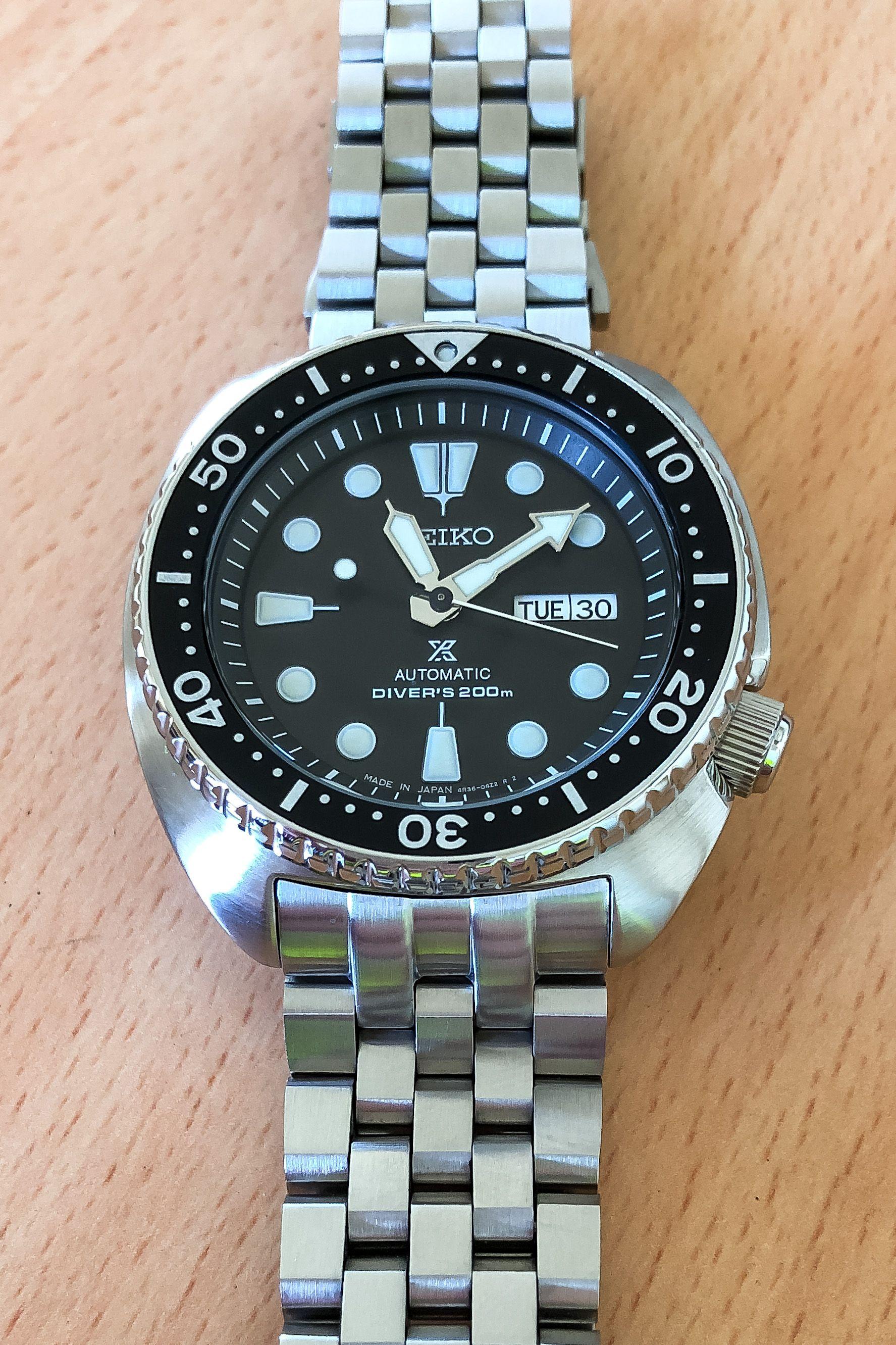 21e71a514e0a0 Seiko SRP777 Turtle on Strapcode Super Engineer bracelet Seiko Watches
