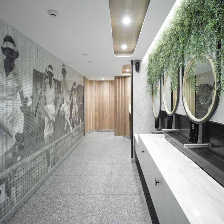 Pin on Corian Commercial Bathrooms