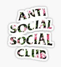 #antiSocial #socialClub #iphone #wallpaper (With images ...