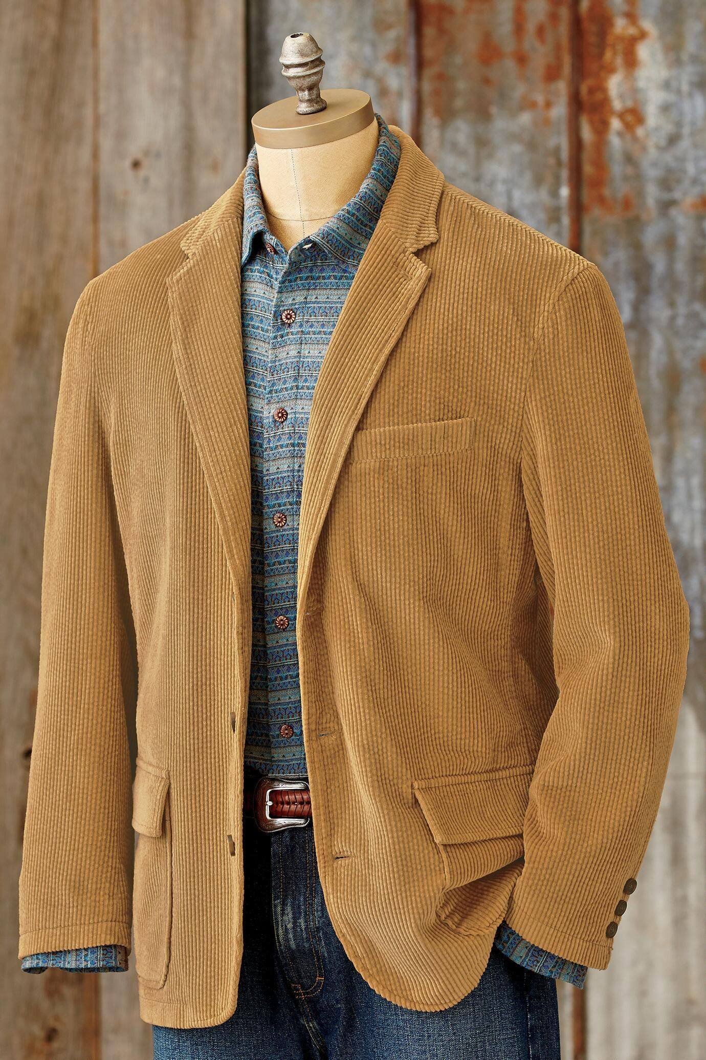 Manana Cord Sport Coat (With images) Mens fashion blazer