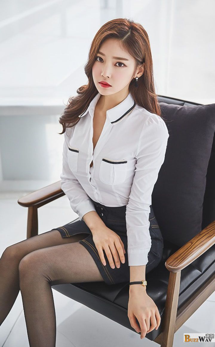 Useful Secretary nudes model korean
