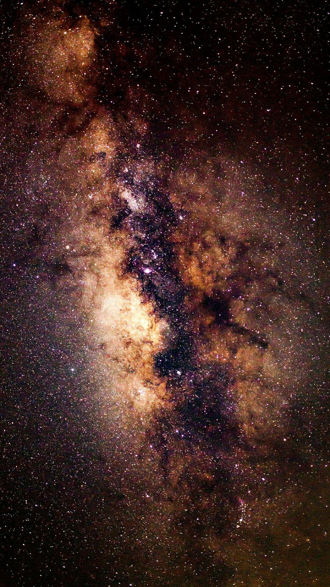 Milky Way Voie Lactee Fond D Ecran Telephone Fond D Ecran Colore Photographie De Paysage