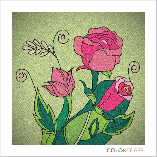 Colorfy vintagate button with Jean filter