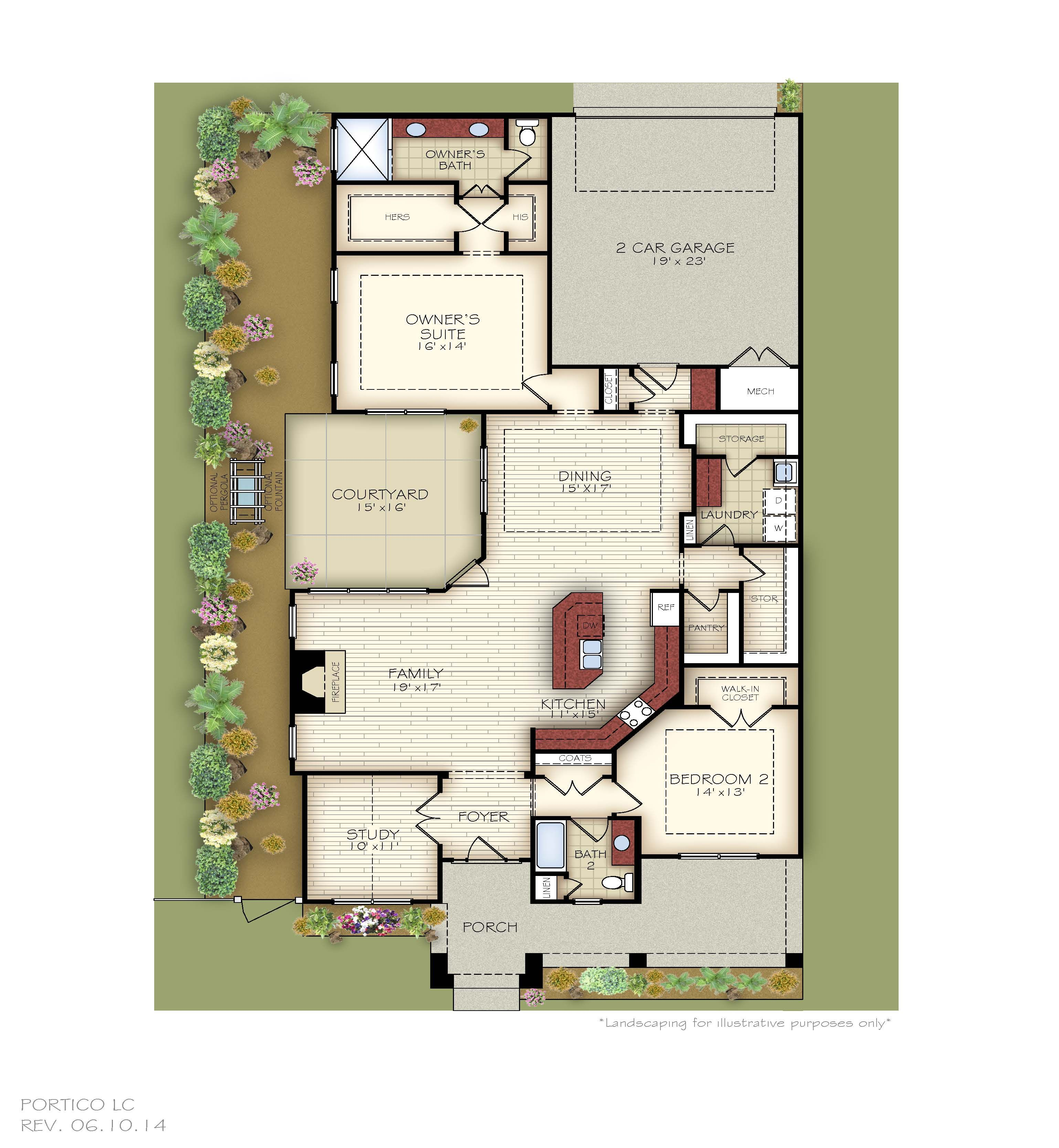 Introducing epcons most sophisticated floor plans ever augusta place at laurel creek portico