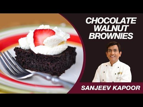 Chocolate walnut brownie eggless recipe by masterchef sanjeev chocolate walnut brownie eggless recipe by masterchef sanjeev kapoor youtube forumfinder Choice Image