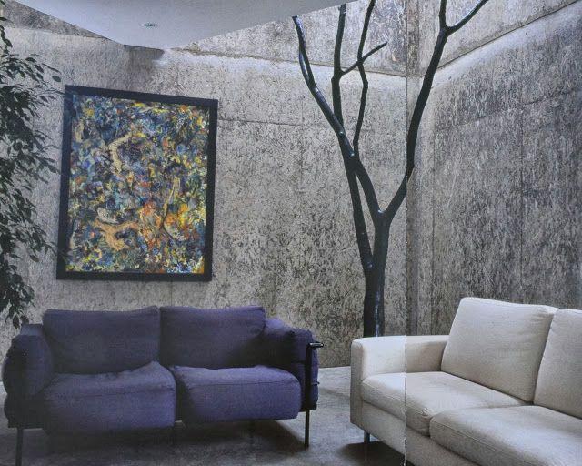 Osb Shuttering For Concrete Creates Luxurious Internal