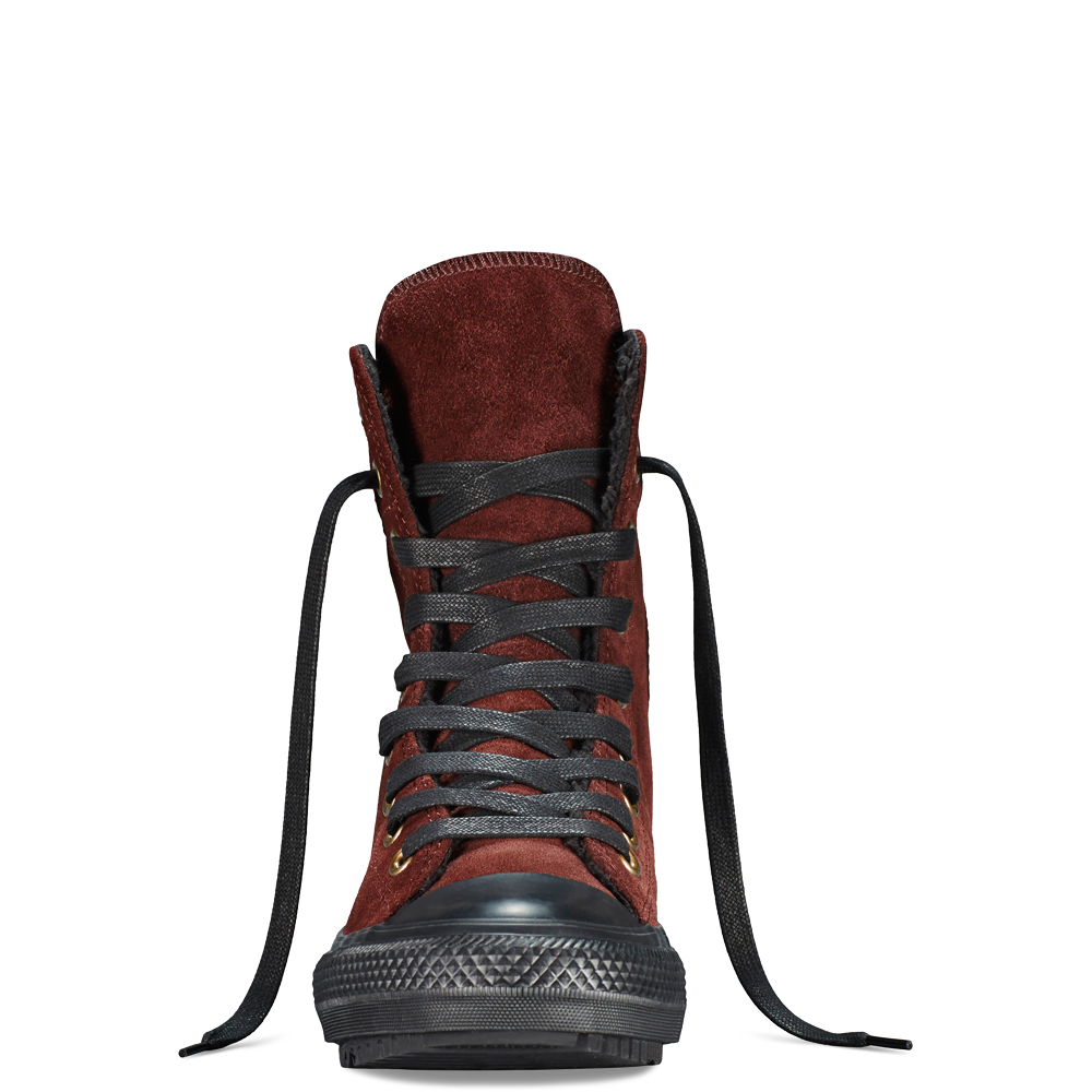 The perfect winter accessory, the Chuck Taylor Hi-Rise Boot.
