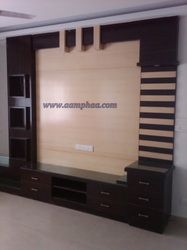 Wooden Showcase Designs For Living Room Tv Unit