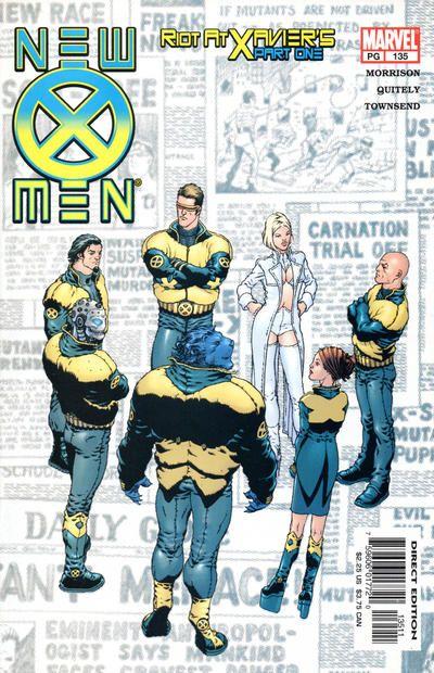 New X-Men # 135 by Frank Quitely