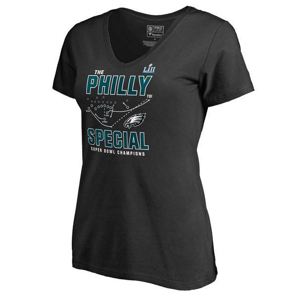 177039f2 Nike Philadelphia Eagles Ladies Talent Scout V-Neck T-Shirt - White ...