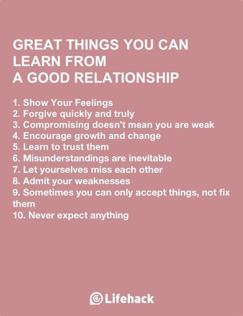 Things To Work On In A Relationship