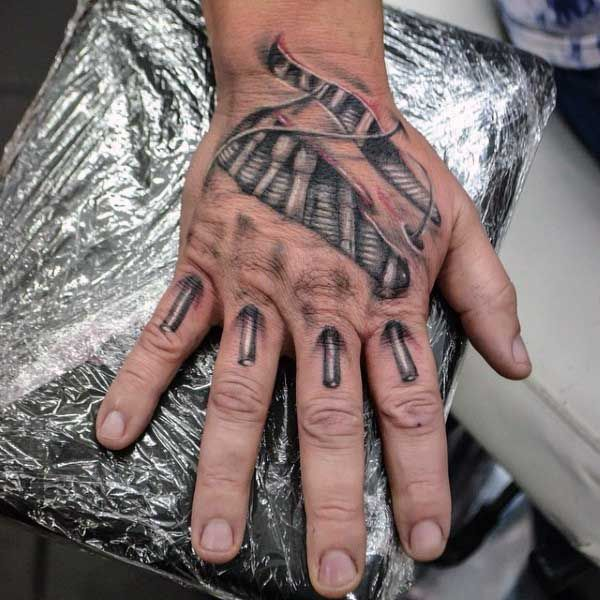 Top 49 Ripped Skin Tattoo Ideas 2020 Inspiration Guide Ripped Skin Tattoo Biomechanical Tattoo Hand Tattoos