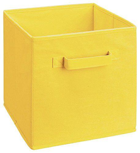 ClosetMaid 1833 Cubeicals Fabric Drawer, Lemon #ClosetMaid #Cubeicals # Fabric #Drawer,