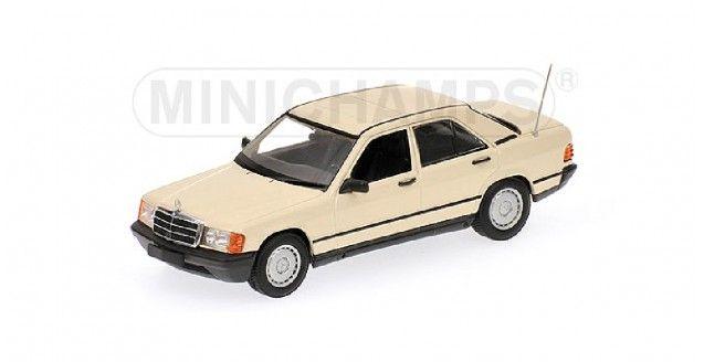 Mercedes 190E 1984 Cream Minichamps 400034104