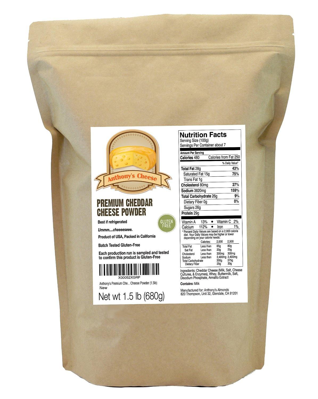 Premium Cheese Powder: Non-GMO, Gluten-Free & No Artificial
