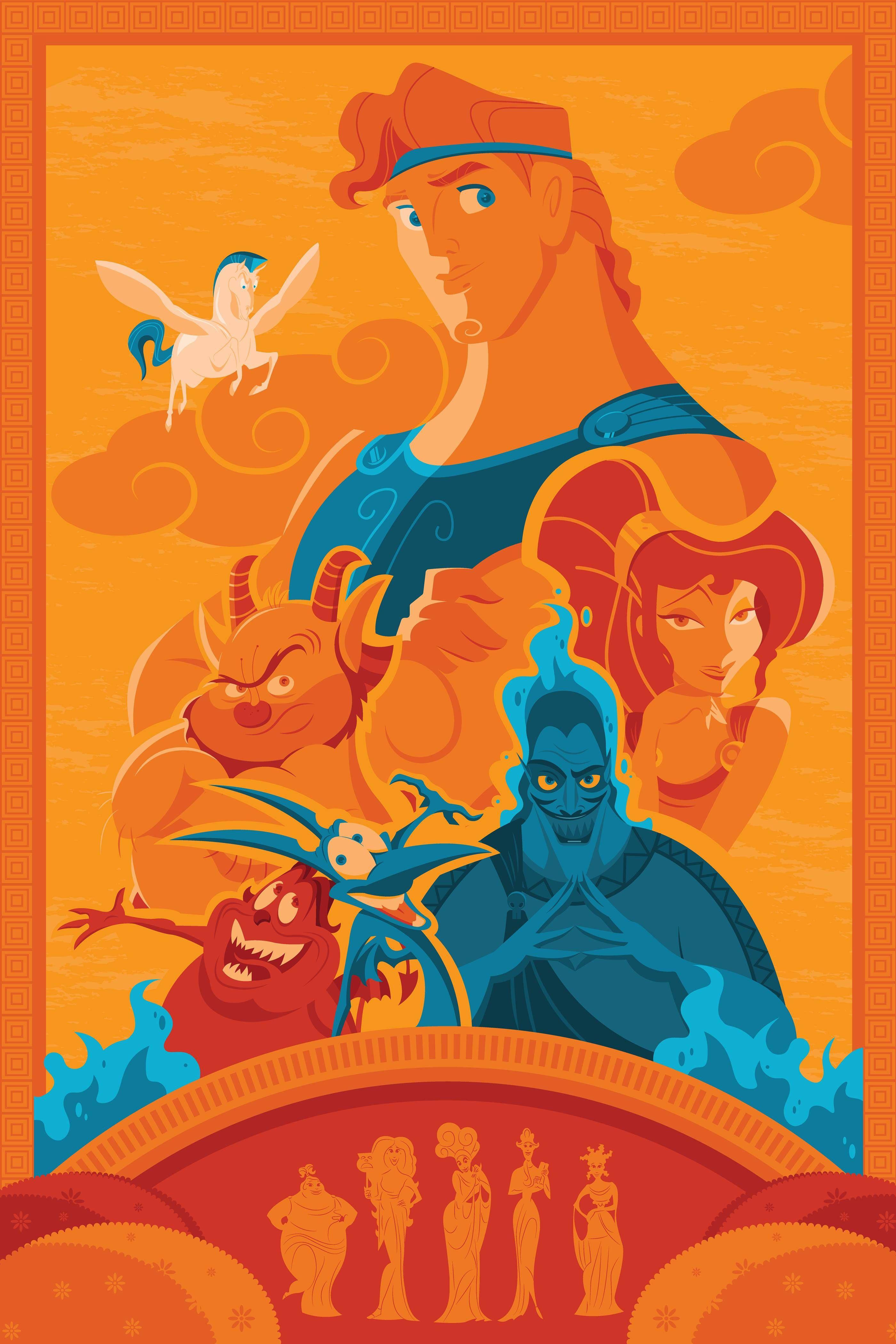 Hercules Cute Disney Wallpaper Disney Posters Disney