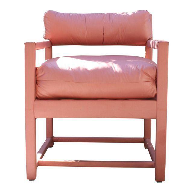 Image of Vintage Milo Baughman Style Parsons Chair
