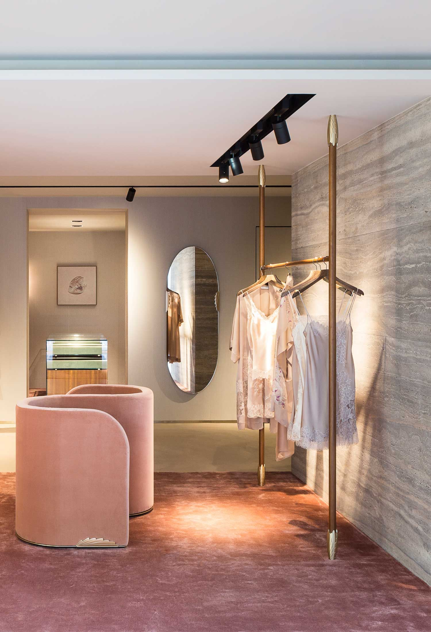 Carine Gilson Flagship Store Brussels By Davidnicolas - Yellowtrace