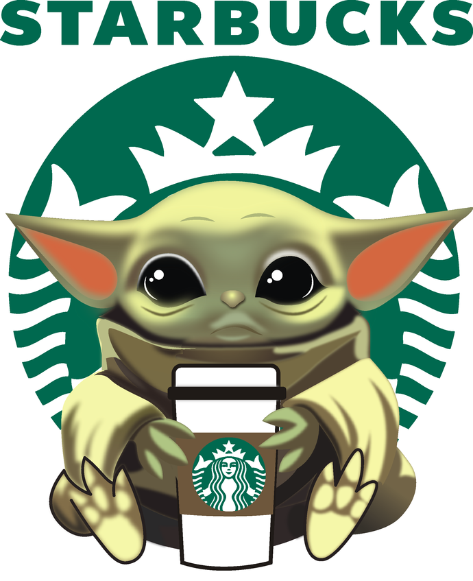 Baby Yoda Starbucks Coffee Life Starbucks Jedi Star Wars Coffee Is My Jam Pumpkin Spice Happy Fall Y All Latte Cappuccino Png Yoda Wallpaper Yoda Artwork Yoda Sticker