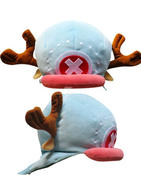 Gorro de Tony Tony Chopper de One Piece - cosplayshow.com 24cd321707b