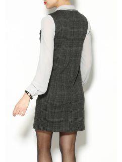 Tipo Cuadros Pichi New Look De Vestido Mujer dS4Tqpf