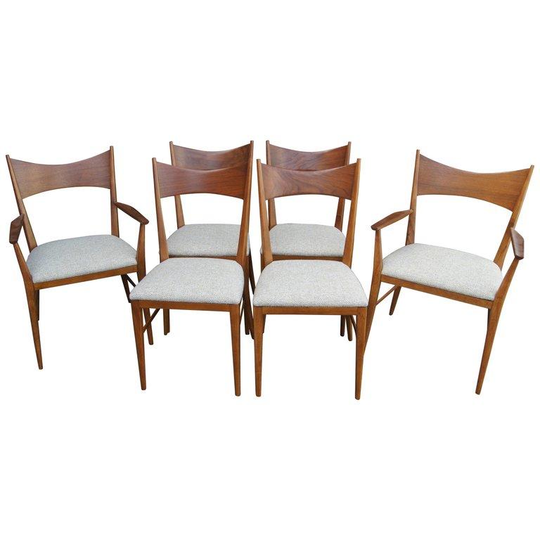 Set Of Six Paul Mccobb Dining Room Chairs - Irwin Group ...