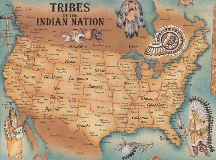 Us Indian Territories Map Mapshistory Native American Map - Us-indian-territory-map