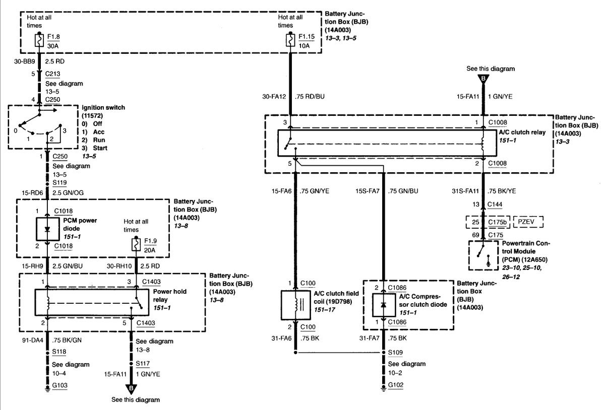 Ford Ranger Alarm Wiring Diagram
