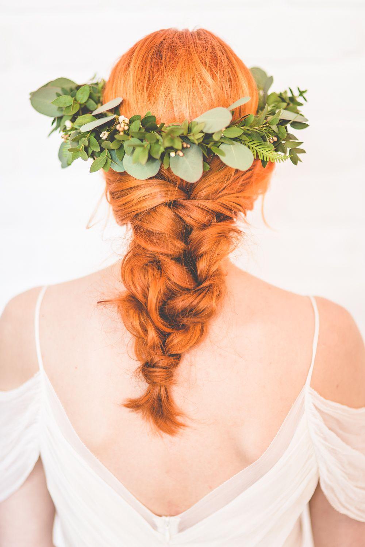 Foliage crown flower crown bohemian hair boho hair boho bride foliage crown flower crown bohemian hair boho hair boho bride fishtail plait hair by lisa alger izmirmasajfo Gallery