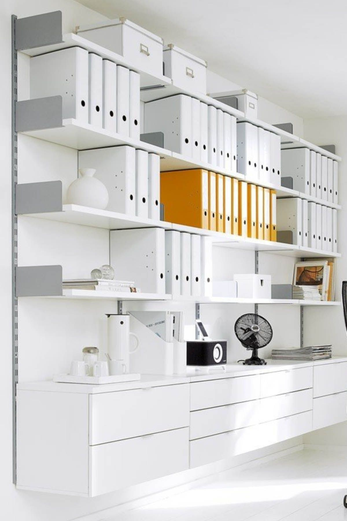 Pin by Regalraum on office storage ÷ | Pinterest | Office shelving ...