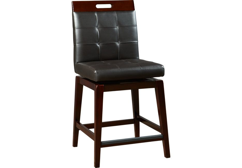 Julian Place Chocolate Counter Height Stool 139 99 Barstool 19w