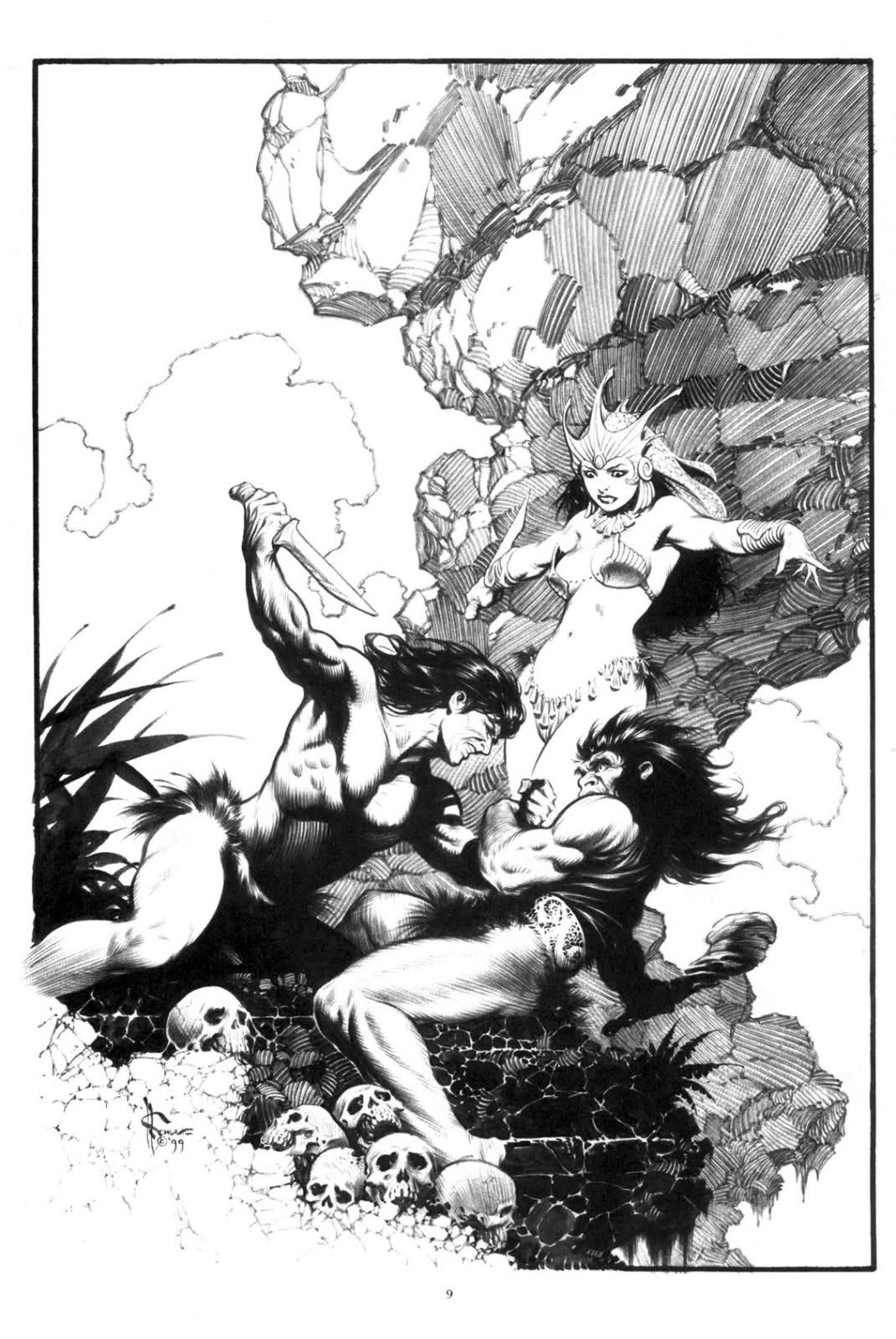 Preferenza mark schultz artist - Tarzan and La | Tarzan's Jungle | Pinterest  YN59