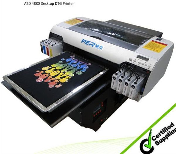 Best Cheap A3 size WER EP2000T digital printers for t-shirts in ...