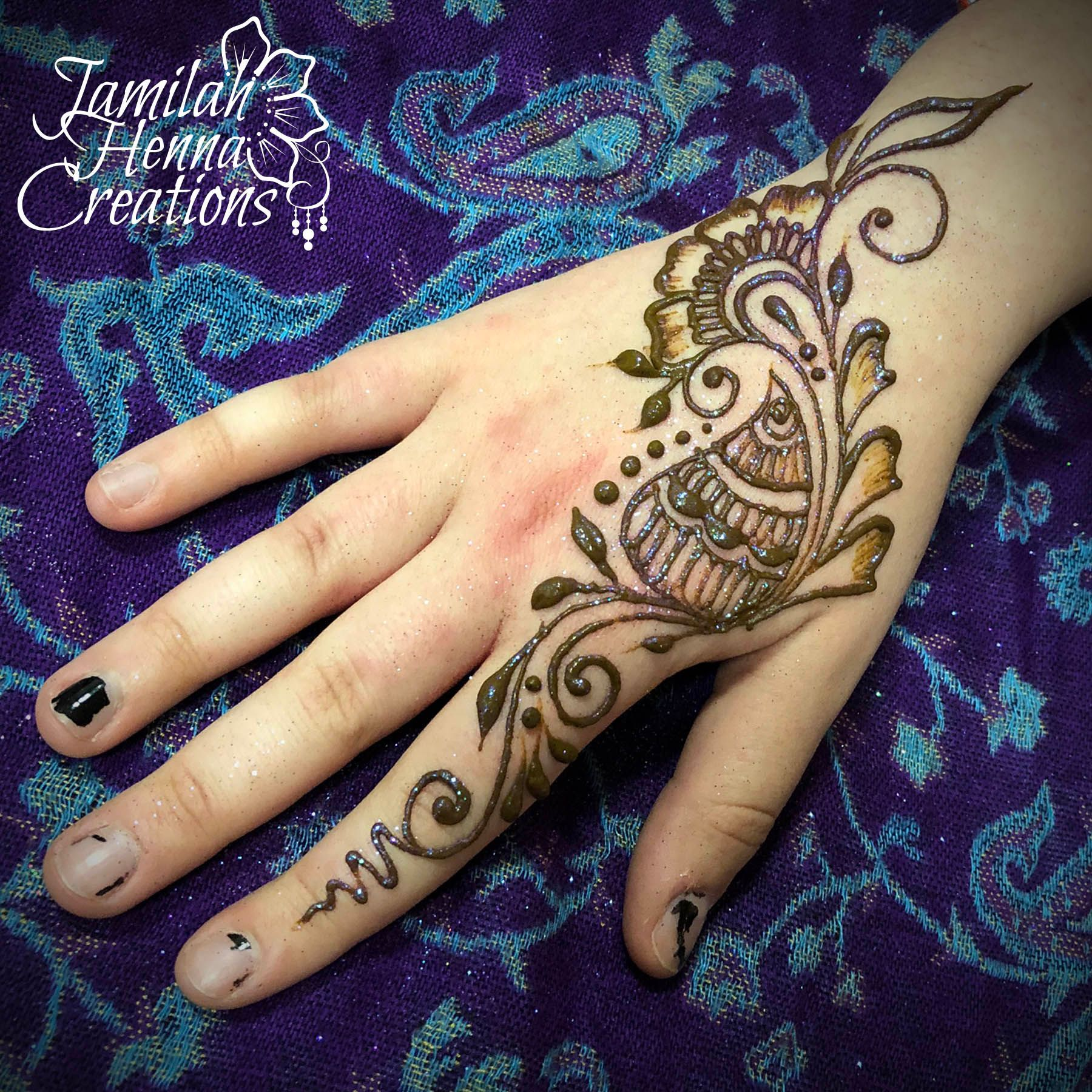 Sweet Simple Henna Www Jamilahhennacreations Com Henna Mehndi