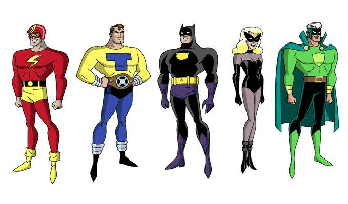 Liga De La Justicia Personajes Imagenes Extra Taringa Justice League Animated Superhero Comic Justice League Unlimited