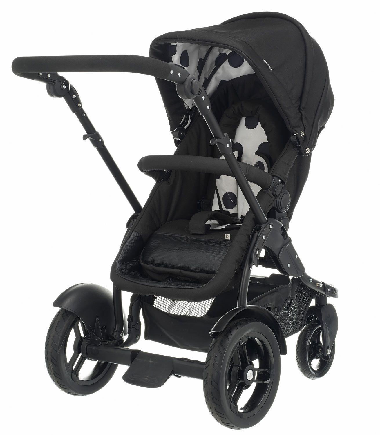 Buy your OBaby Zezu Multi Pramette Dotty Black from