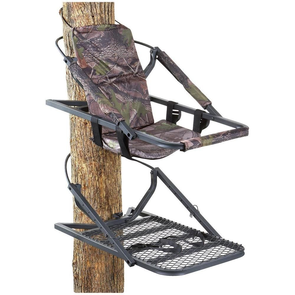 Guide gear extreme deluxe hunting climber tree stand deer