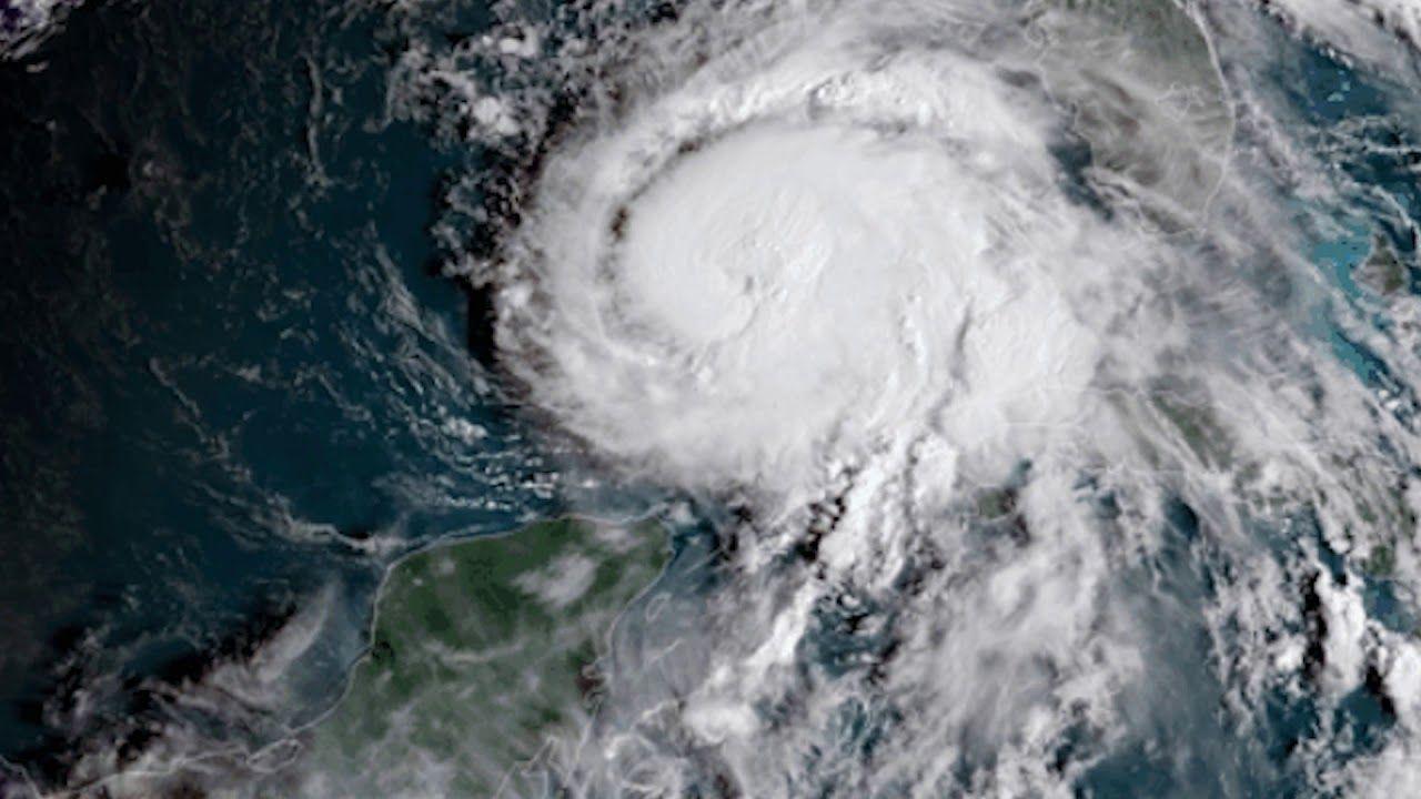 Hurricane Michael Seen From Space Youtube Con Imagenes Tierra