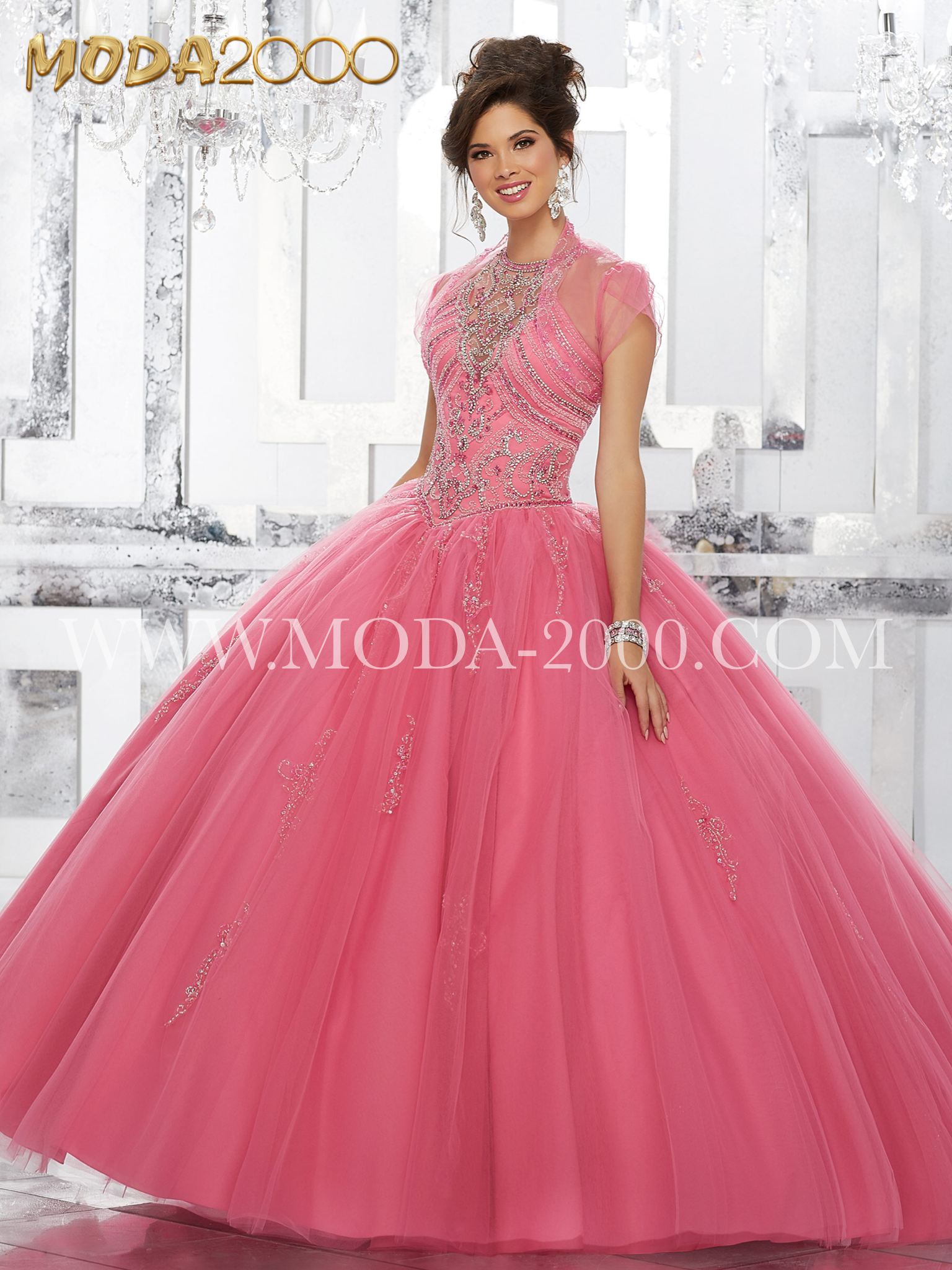 Pink | Elegant and beautiful quinceañera dresses. Find the dress of ...