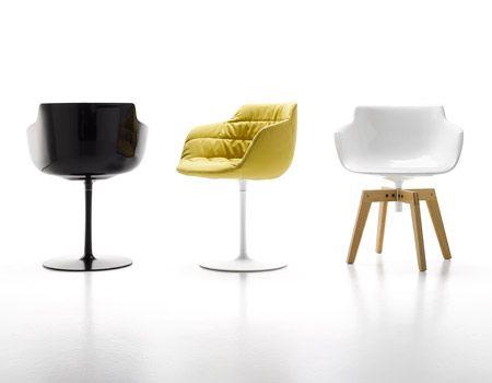 Mdfitalia flow armchair for Mdfitalia it
