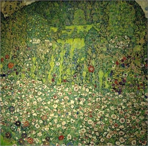 Horticultural Landscape with hilltop, 1916 / Klimt