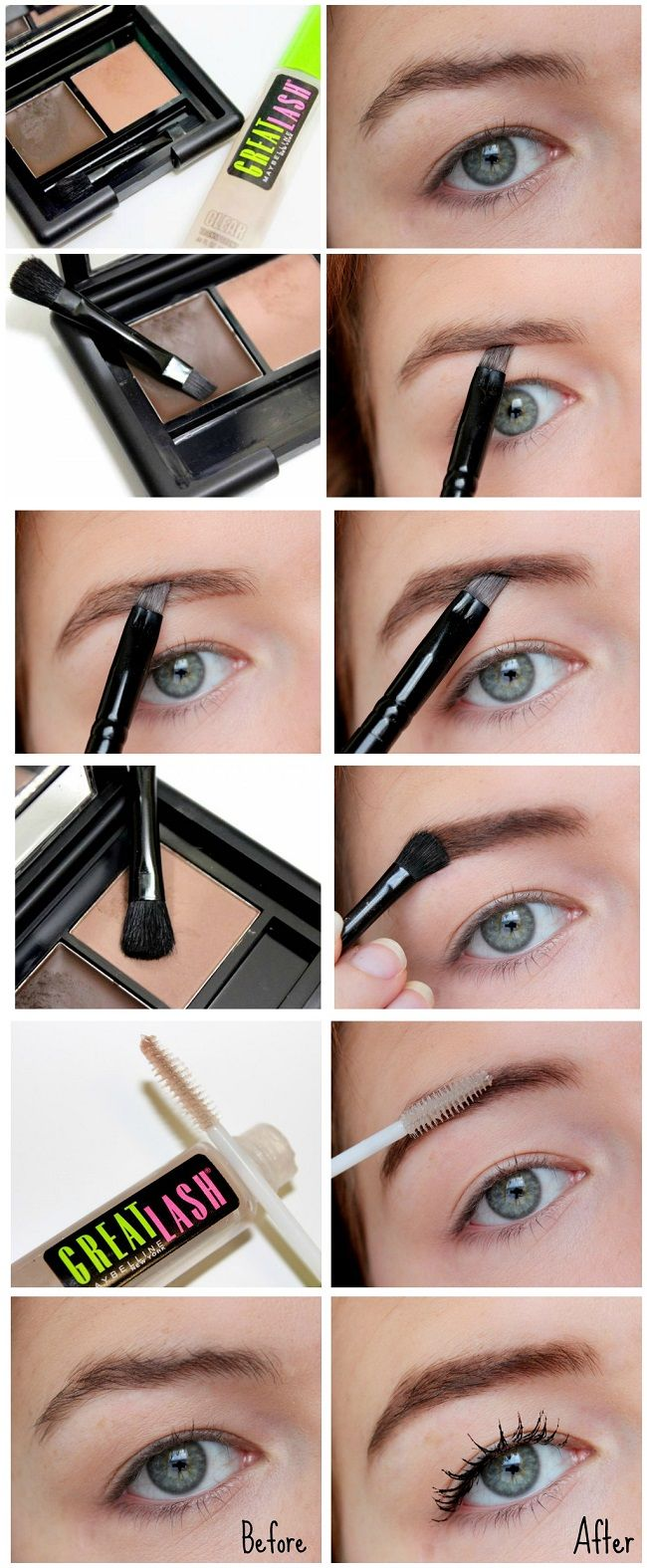 Eye basics brow pictures