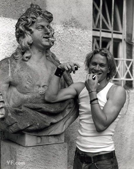 Heath Ledger by Bruce Weber. I still have this vanity fair somewhere.