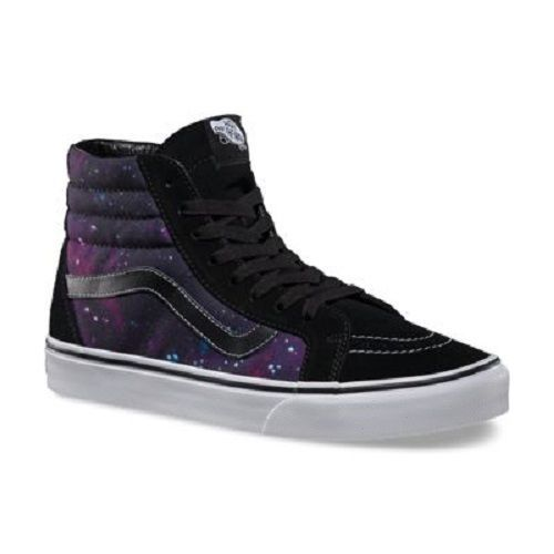 9582a091fc43 VANS OLD SKOOL COSMIC SK8-HI REISSUE GALAXY Skate Shoe High top 6.5 in  Clothing