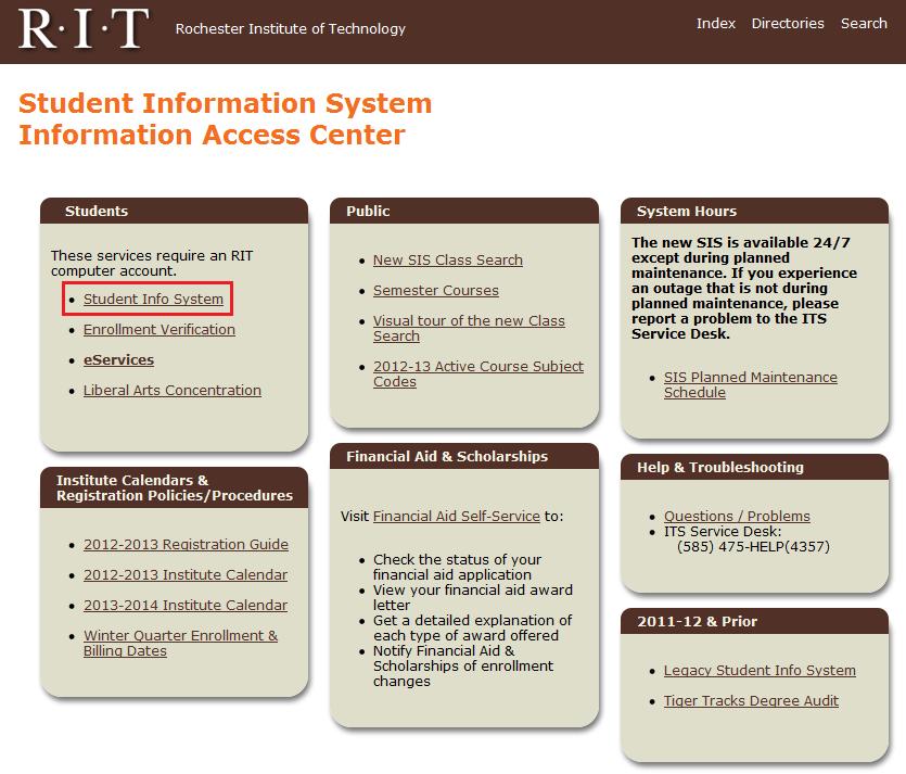 Student Infocenter 9 27 12 Png 835 713 Student Info