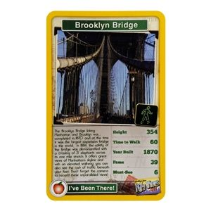 Taking a trip to #NewYork this summer? Learn about the city with Top Trumps, the new educational and fun game that is sweeping across the US. Featuring the #BrooklynBridge